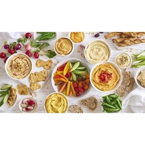 Fresh Salads, Dips & Pate