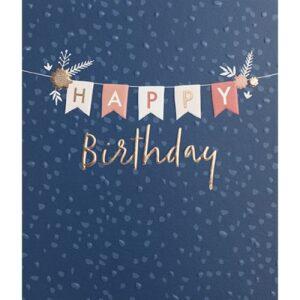 Rose Fizz Birthday Cards