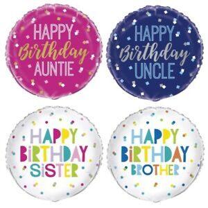 Relatives Balloons